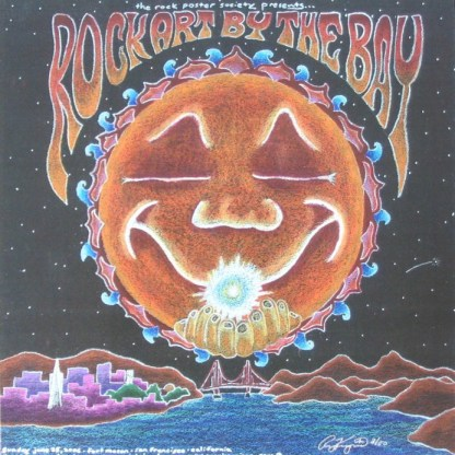 Rock Art By The Bay 2006 poster by Ryan Kerrigan