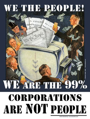 Occupy poster by Winston Smith