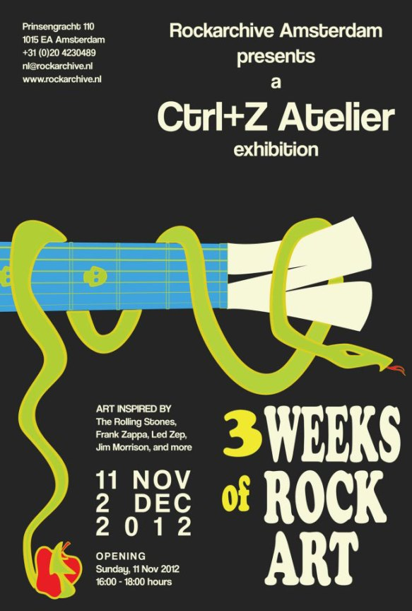 Ctrl+Z Atelier exhibition at Rockarchive in Amsterdam