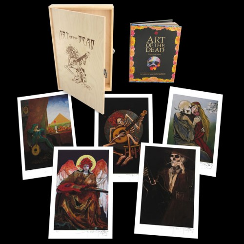 Art of the Dead Limited Edition Box Print Box Sets by Stanley Mouse