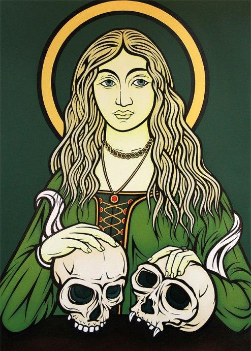 Madonna of Evolution (Simian Vanitas), 2013