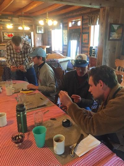 Learn how to tie knots at TRR Guide School