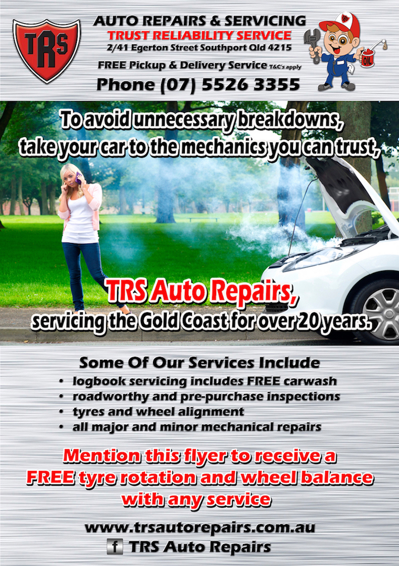 Mechanic - Gold Coast - TRS Flyer 2016