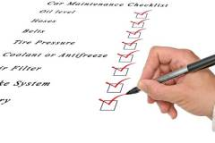 Car Maintenance Checklist - Gold Coast