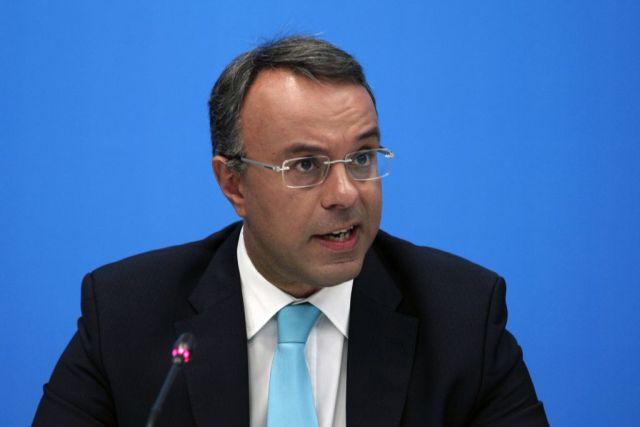 Σταϊκούρας: Η κυβέρνηση οδηγεί σε ασφυξία την οικονομία