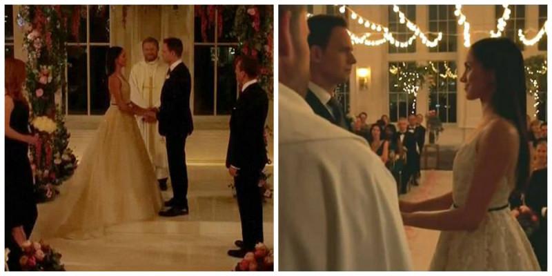 H Meghan Markle ντύθηκε νύφη στο Suits