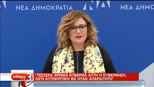 Μ. Σπυράκη: Οι αγορές προεξοφλούν κυβέρνηση Μητσοτάκη (video)