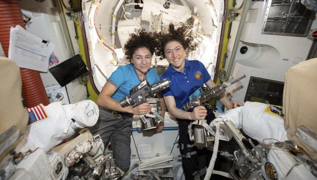 ΝΑΣΑ: Διαστημικός περίπατος μόνο για γυναίκες (video)