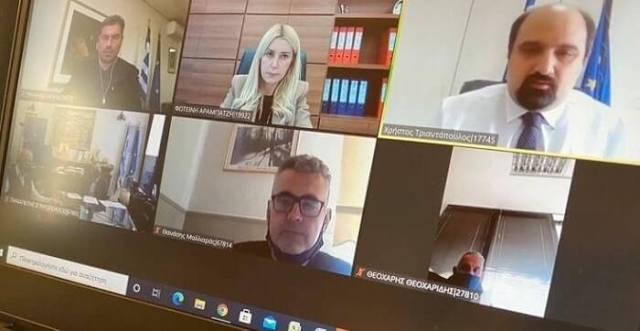 Τηλεδιάσκεψη της Φ. Αραμπατζή για τη διαδικασία αποζημίωσης των πληγέντων στην Π.Ε. Σερρών