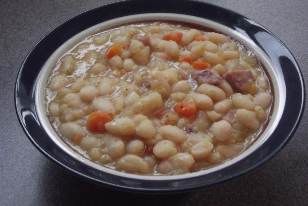 White Bean Soup with Leftover Ham; Recipe (1/2)