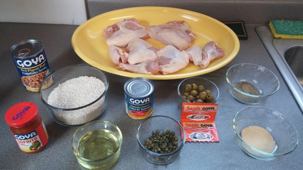Arros con Pollo; Recipe (2/5)