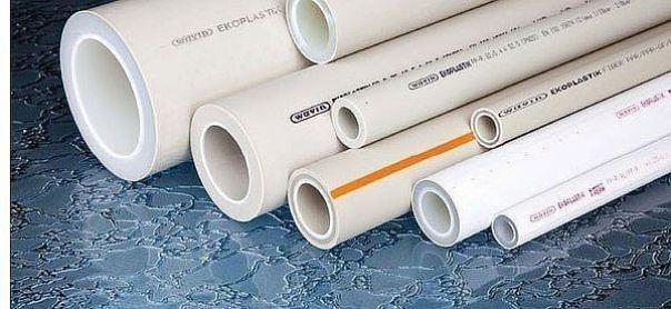 Фото - полипропиленовые трубопрокаты для водопровода с маркировкой из пластика