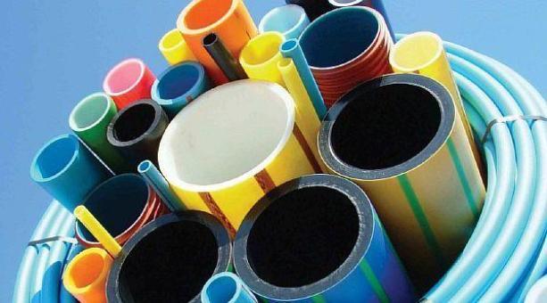 Фото - цветовые маркировки на пластиковых трубопрокатах