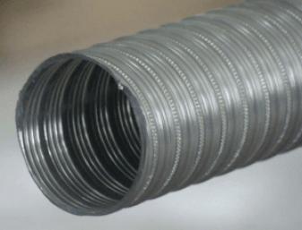 Фото: металлические воздуховоды