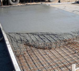 Фото: бетонная стяжка своими руками