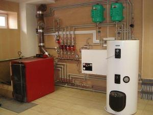 Фото – устройство газовой котельной в частном доме