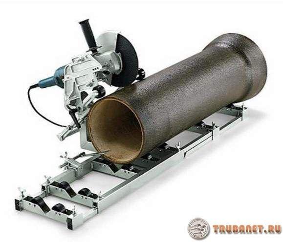 фото: Труборез электрический для стальных трубопрокатов