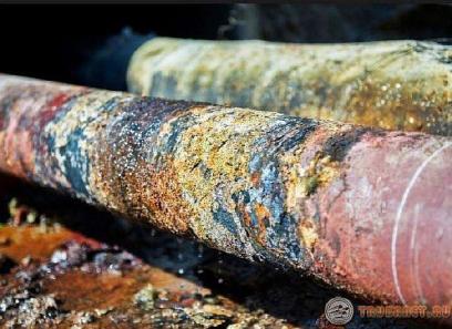 фото: корозия канализационных трубопроводах