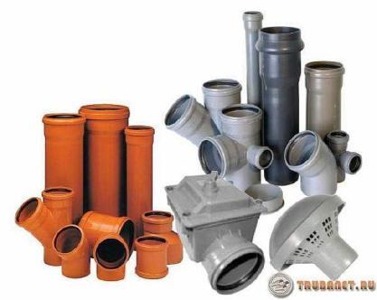 фото: пластиковые канализационные системы