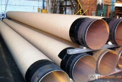 Фото: Весьма усиленная изоляция (ВУС) стальных трубопрокатов