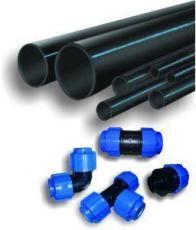 Фото: трубы и фитинги для газопровода