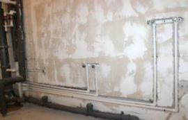 фото: Разводка водоснабжения в квартире