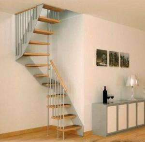 фото: Межэтажный маршевый лестничный подъем