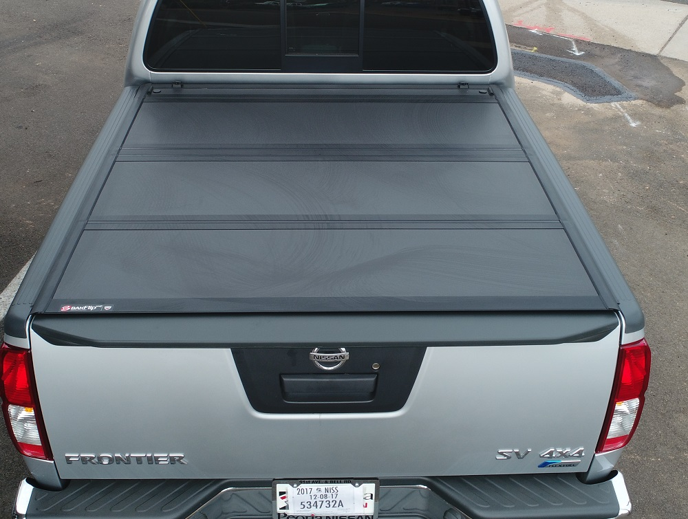 Nissan Frontier Bakflip Mx4 Hard Folding Tonneau Cover