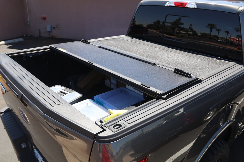 2015 2019 Ford F 150 6 5 Bed Hard Folding Cover
