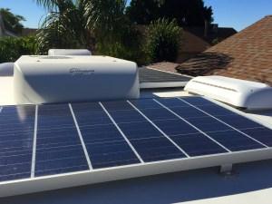 RV Truck Camper Solar Panels