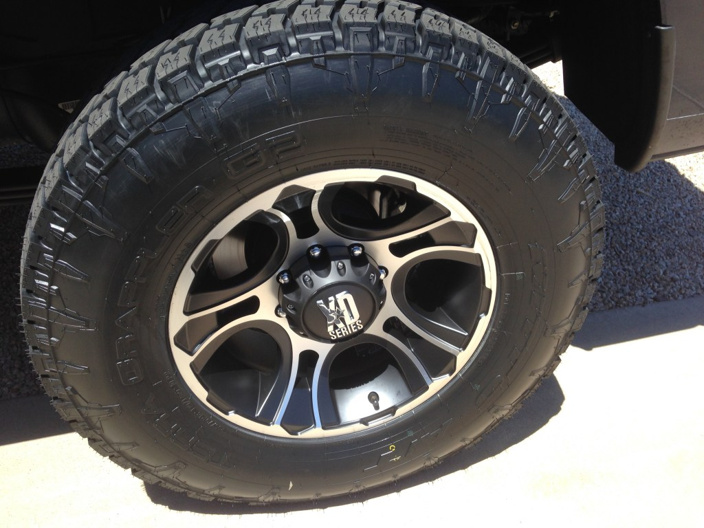 Nitto Terra Grappler G2 AT Tire - Truck Camper Adventure