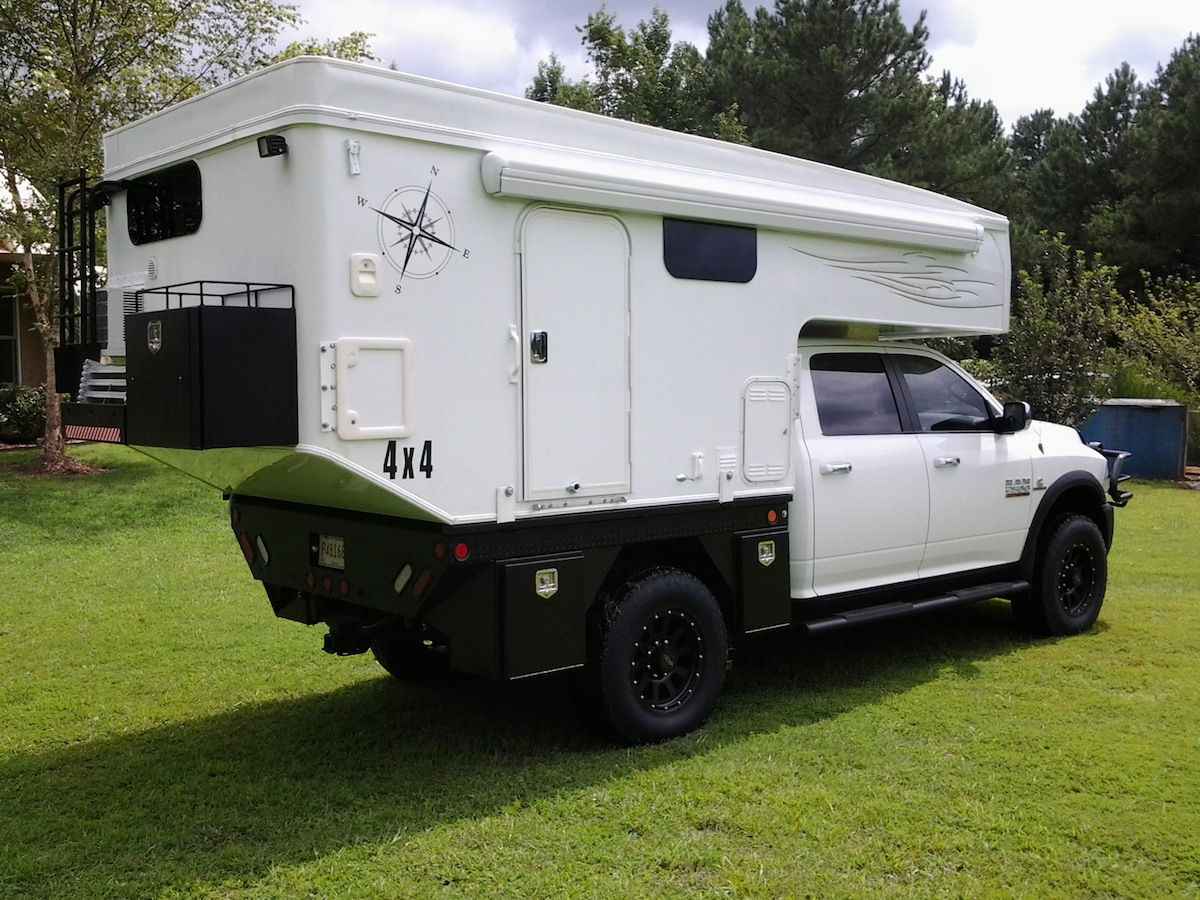 Interested in a flatbed pop up truck camper for more interior space  Well   the good folks at Phoenix Pop up Campers build perhaps the coolest looking. Building a Great Overland Expedition Truck Camper Rig   Truck
