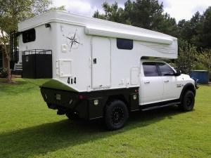 Phoenix Flatbed Popup Truck Camper - Overland Expedition