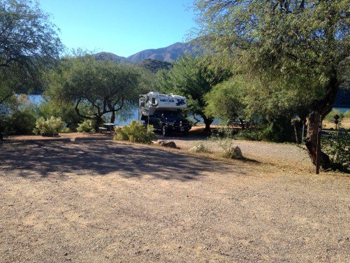 Burnt Corral Campground - Apache Trail