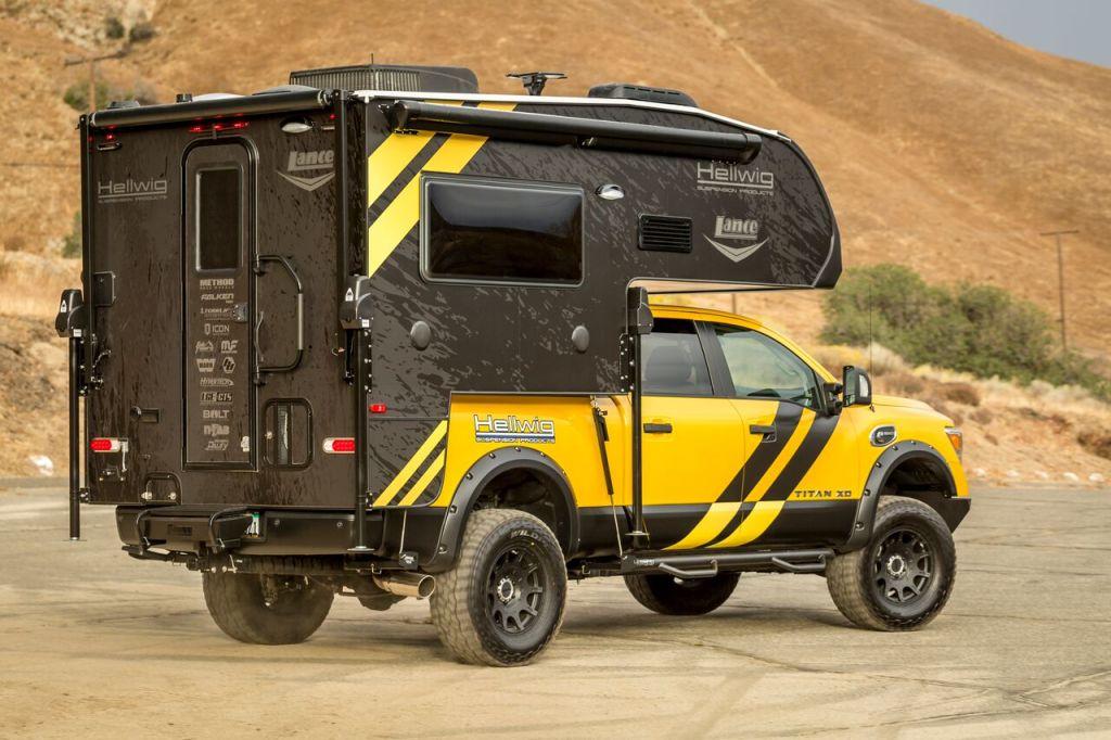 Lance 650 and Nissan Titan - Truck Camper Adventure
