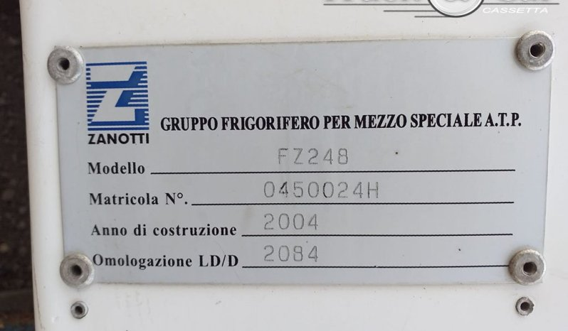 RIF. A.50 GRUPPO FRIGO ZANOTTI TRANSBLOCK FZ248 – 2004 completo