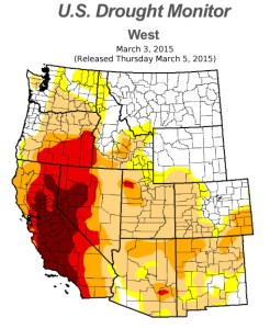 Drought Monitor 3-3-2015
