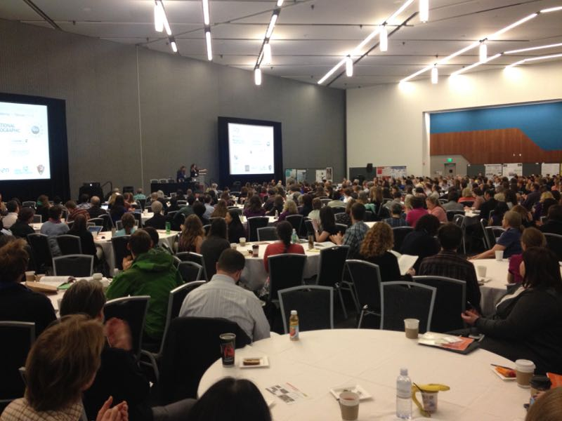 The welcome address at the Citizen Science 2015 conference in San Jose, CA.