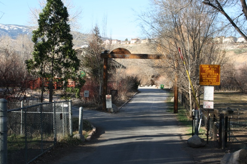 Oxbow Nature Study Area is located in Reno, NV at 3100 Dickerson Road.
