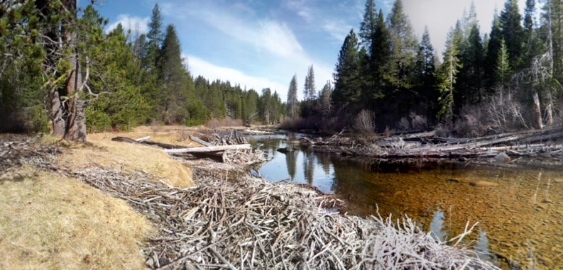 Truckee Panorama. Photo by Joanna Rutkowski, Mar. 17, 2015.