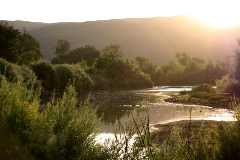 Sunrise at Mustang Ranch Preserve, 6 Aug 2015.