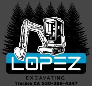 Lopez excavating