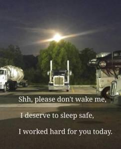 sleeping-truck