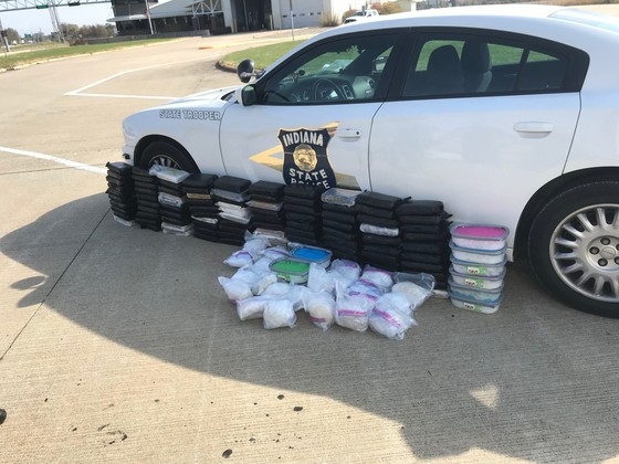 indiana semi drug bust
