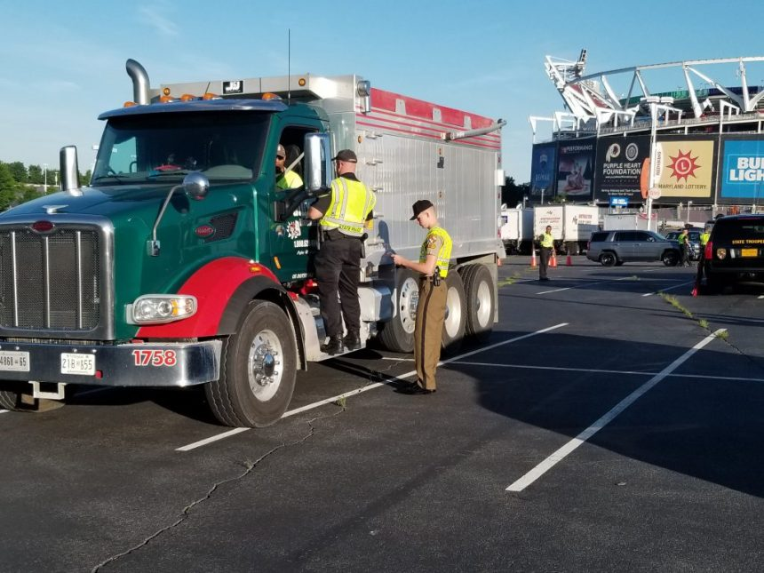 State Police Safety Check Sidelines 125 Trucks In Maryland