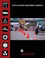 2010 Traffic Incident Management Handbook Update
