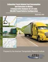 Estimating Truck-Related Fuel Consumption and Emissions in Maine: A Comparative Analysis for a 6-axle, 100,000 Pound Vehicle Configuration