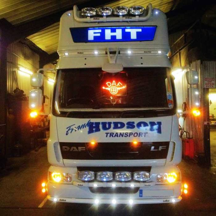 DAFTruck light LED logo