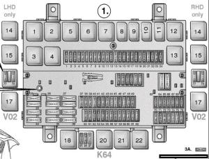Fuses box diagram and relays  VOLVO FM, FH Version 2 | Truckmanualshub