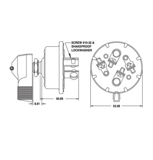 Cole Hersee 7571204 Reversing Rotary Switch – Great for